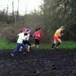 Women's race at NEHL XC series at Aykley Head, Durham