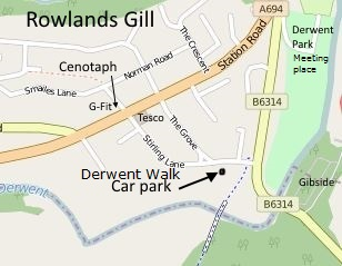 Rowlands Gill meeting places